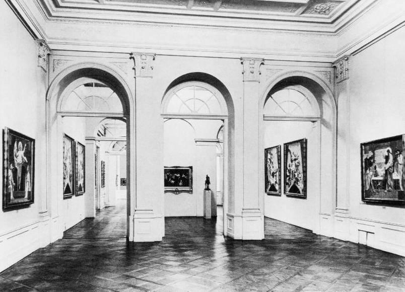 A Fõvárosi Képtár 1933